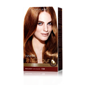 каштановый цвет волос фото краска