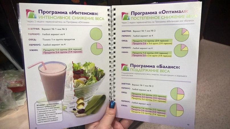 Программа похудения с орифлейм